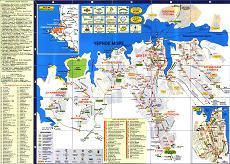 Полная туристическая карта Севастополя