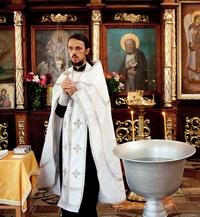 Крещение ребенка, крестины.