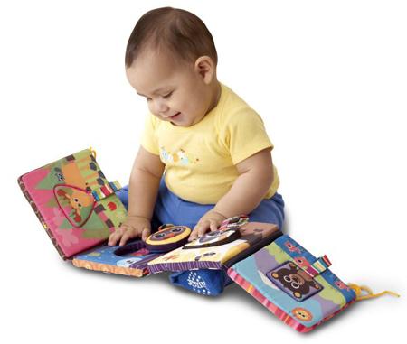 Книжка-раскладушка с обьемными картинками