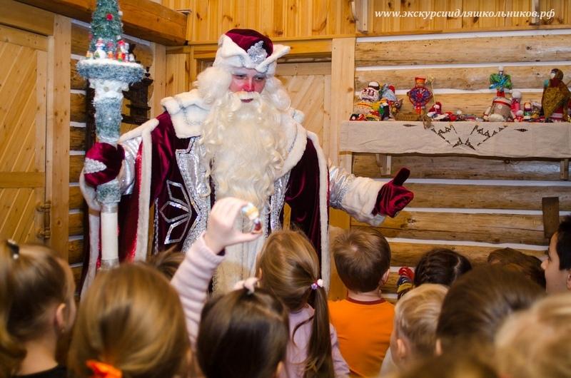 Карамельная фабрика Деда Мороза