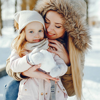 Как маме оставаться красивой в зимние праздники