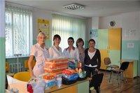 Севастопольские мамочки помогли деткам из ИБО.