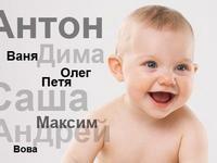 Рейтинг популярности детских имен самого солнечного Севастопольского форума