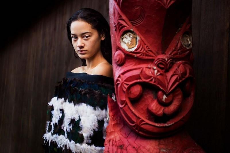 Фото девушки, Новая Зеландия