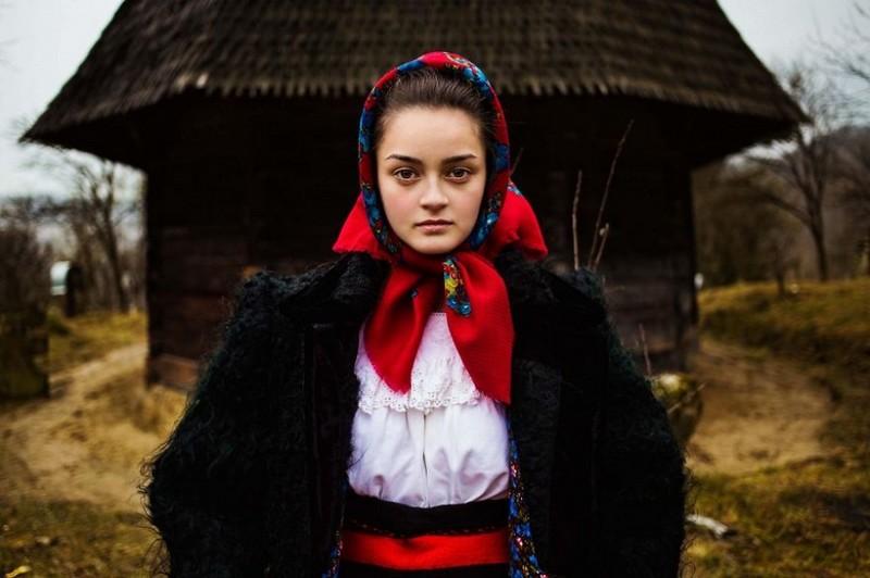 Фото девушки, Румыния