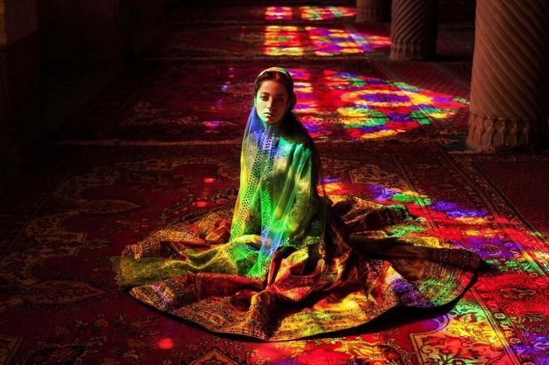 Фото девушки, Иран