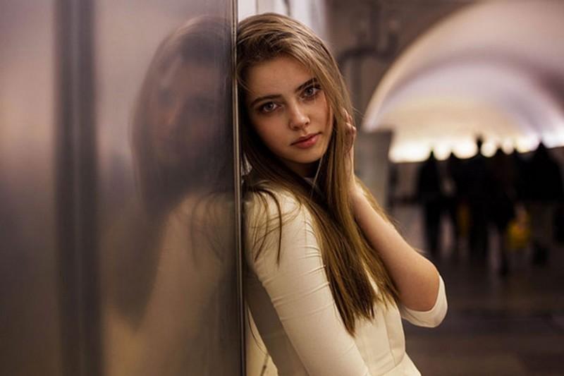 Фото девушки, Россия