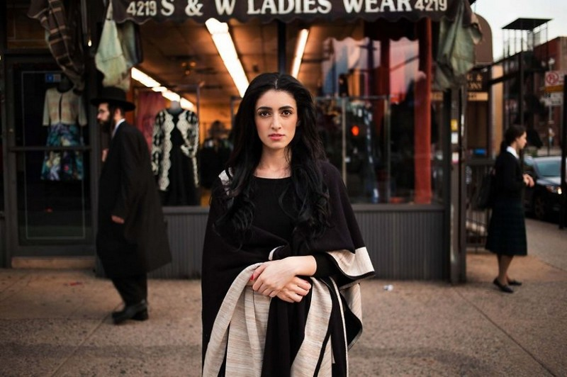 Фото девушки, Нью-Йорк, США
