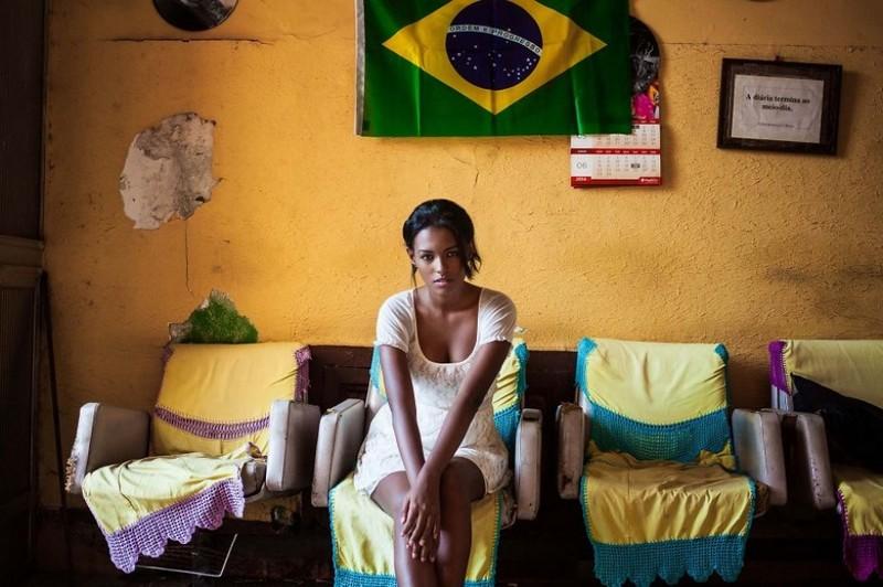 Фото девушки, Рио-де-Жанейро, Бразилия