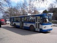 В Севастополе введен кольцевой троллейбусный маршрут.